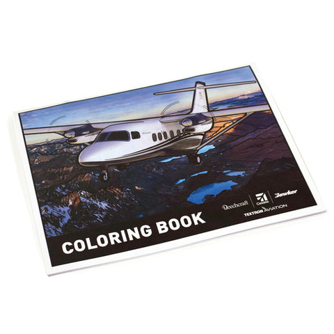 Textron Aviation Coloring Book
