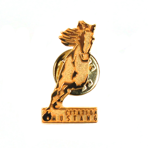 Cessna Citation Mustang Horse Lapel Pin