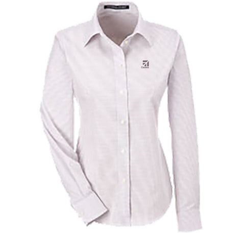 Cessna Ladies Micro Tattersal Shirt