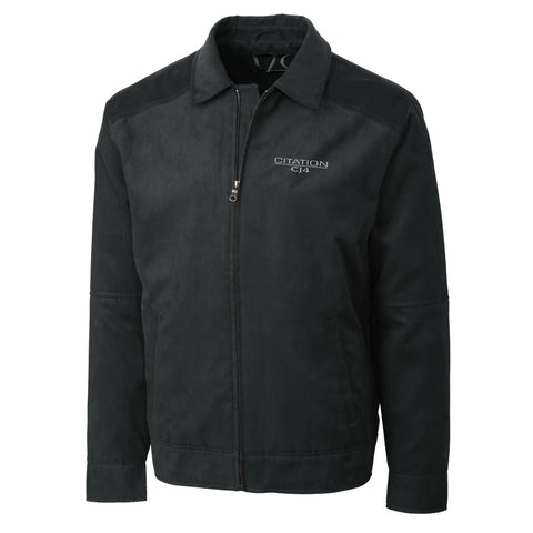 Cessna Citation CJ4 Mens Microsuede Jacket