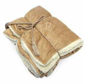 Lambswool Sherpa Throw