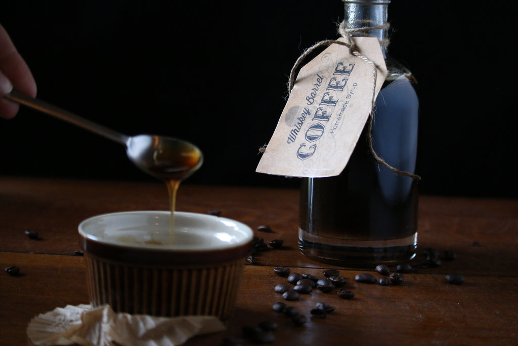 Whiskey Barrel Coffee Syrup