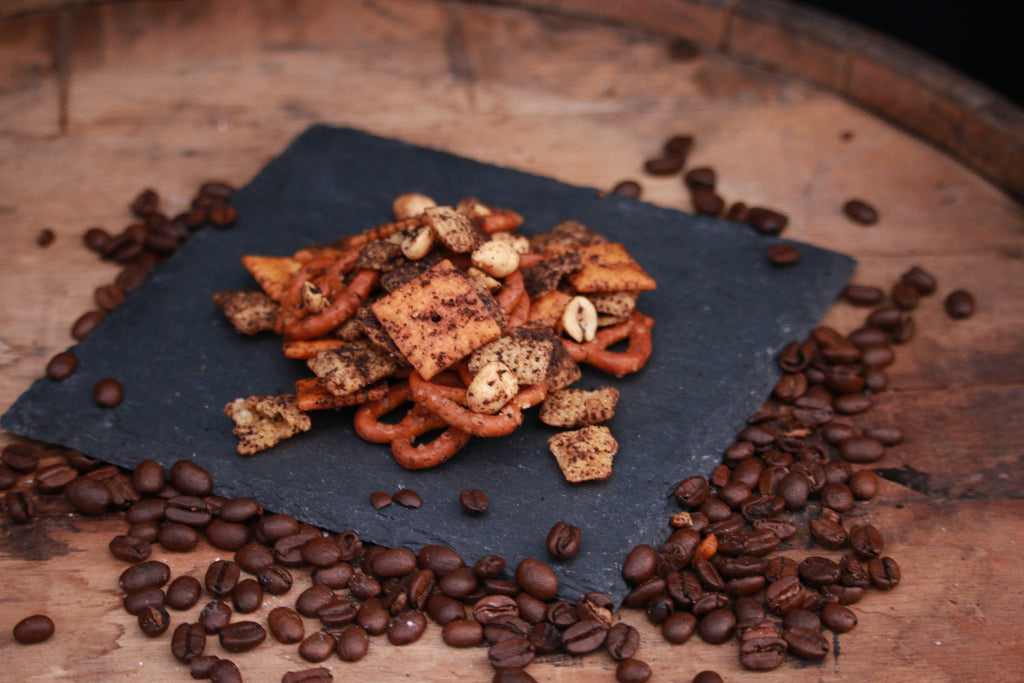 Coffee and Kickoffs: Spiced Snack Mix