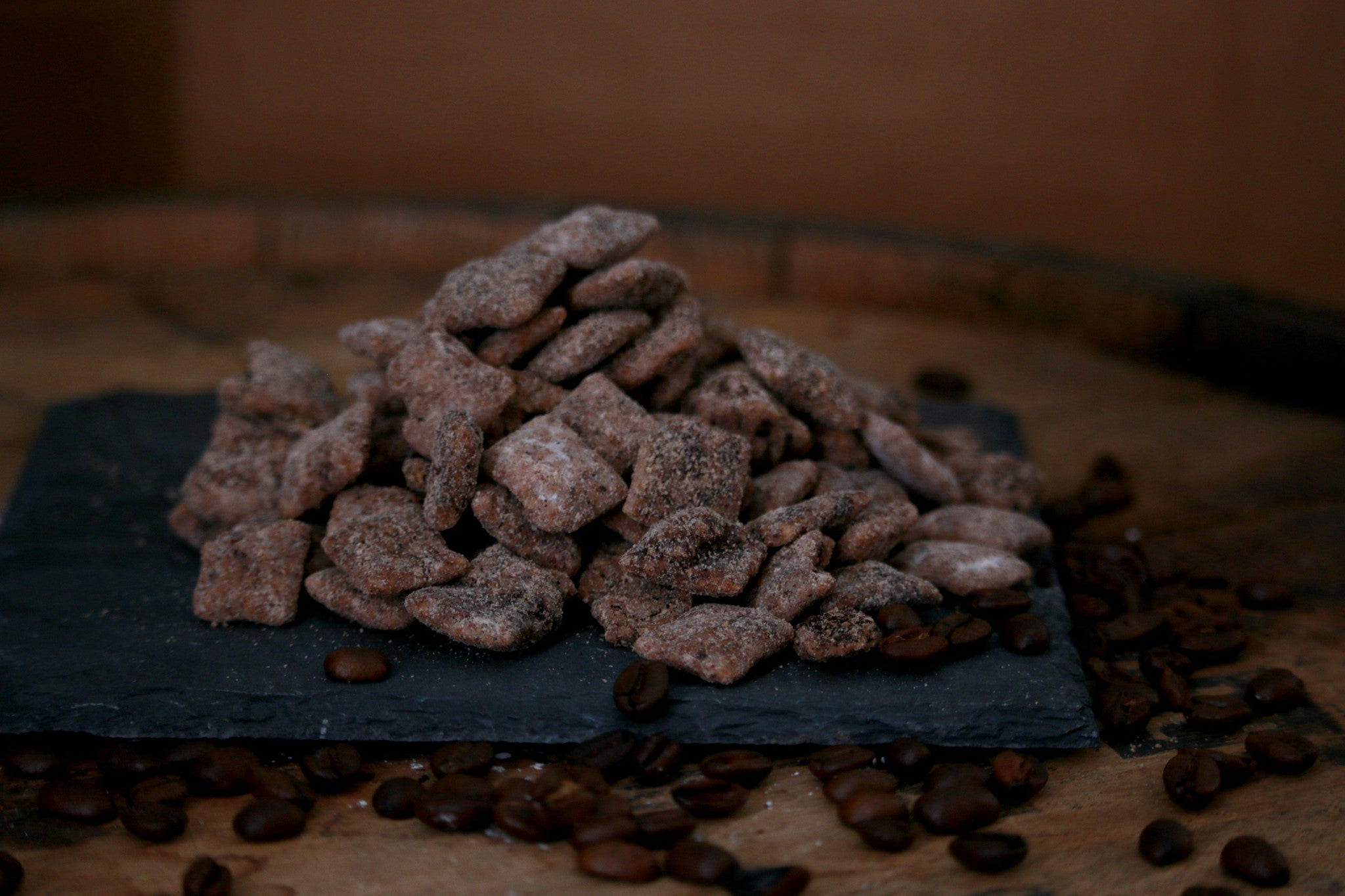 Coffee and Kickoffs: Puppy Chow