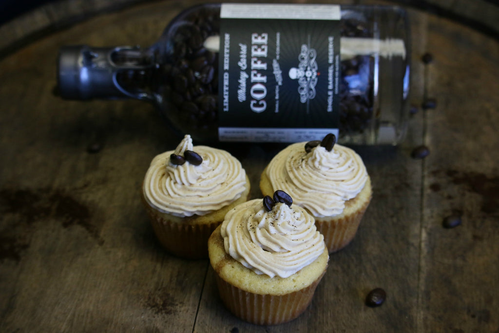 Whiskey Barrel Coffee Cupcakes