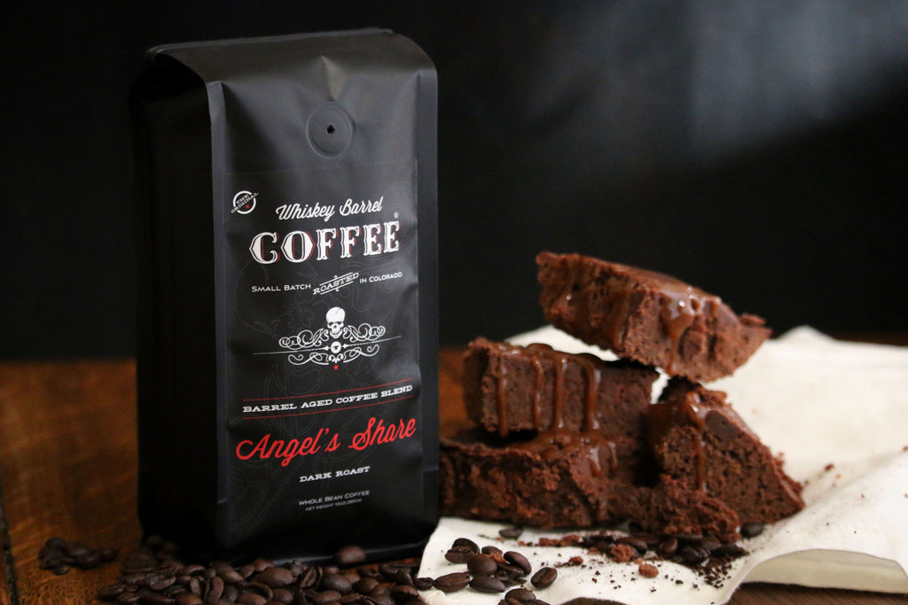 Whiskey Barrel Coffee Espresso Fudge Brownies
