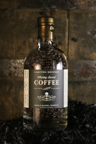 LIMITED EDITION SINGLE BARREL RESERVE WHISKEY BARREL COFFEE - BOSSUET