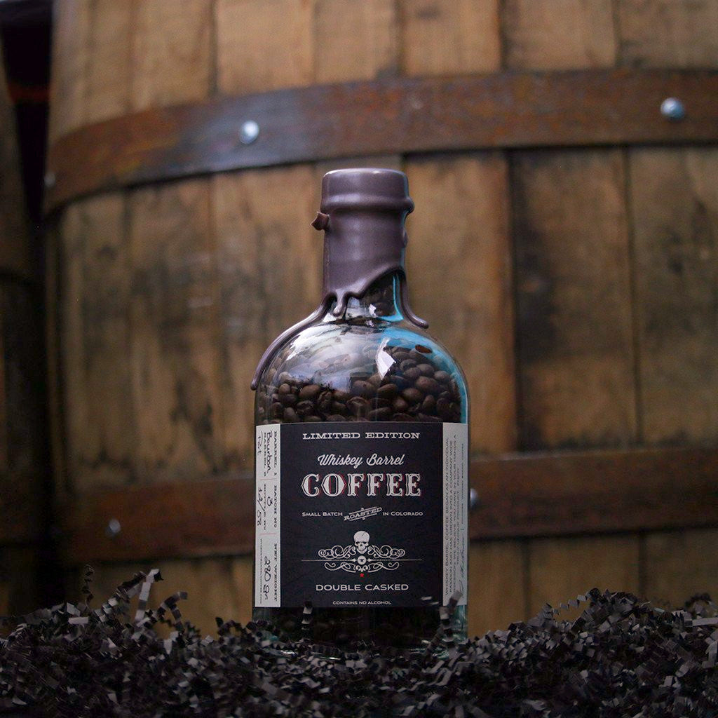 Limited Edition   Port Barrel Finished   Double Casked Whiskey Barrel Coffee