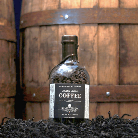 Limited Edition - Rum Barrel Finished - Double Casked Whiskey Barrel Coffee
