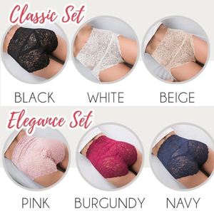 All Lace Hip Hugger Briefs
