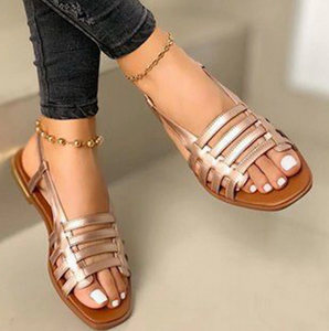 Elegant Ladies Open Toe Hollow Out Sandals