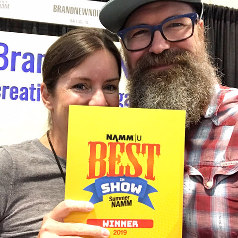 BrandNewNoise Summer NAMM 2019 Best in Show Winner