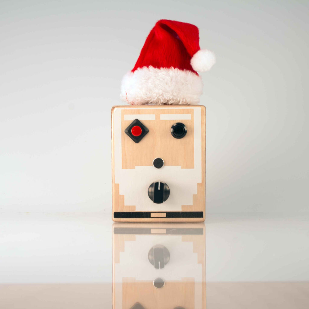 8 Bit Santa Voice Recorder Gadget by BrandNewNoise. Christmas kitsch!