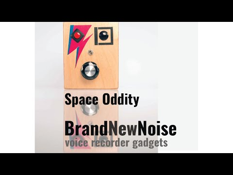 Space Oddity limited edition audio recorder by BrandNewNoise Instruments and Audio Recorders