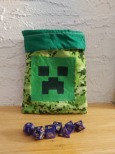 Load image into Gallery viewer, Minecraft Creeper Bag of Holding