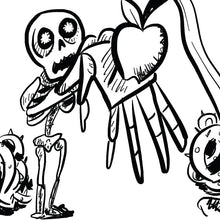 Load image into Gallery viewer, Skeleton Joe Finds Fresh Fruit (kids book)