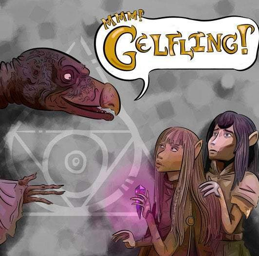 Mmm! Gelfling! | Dark Crystal Fan Art