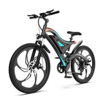 Six Blade Integrated Wheel Flamethrower Mountain Electric Bike S05-1