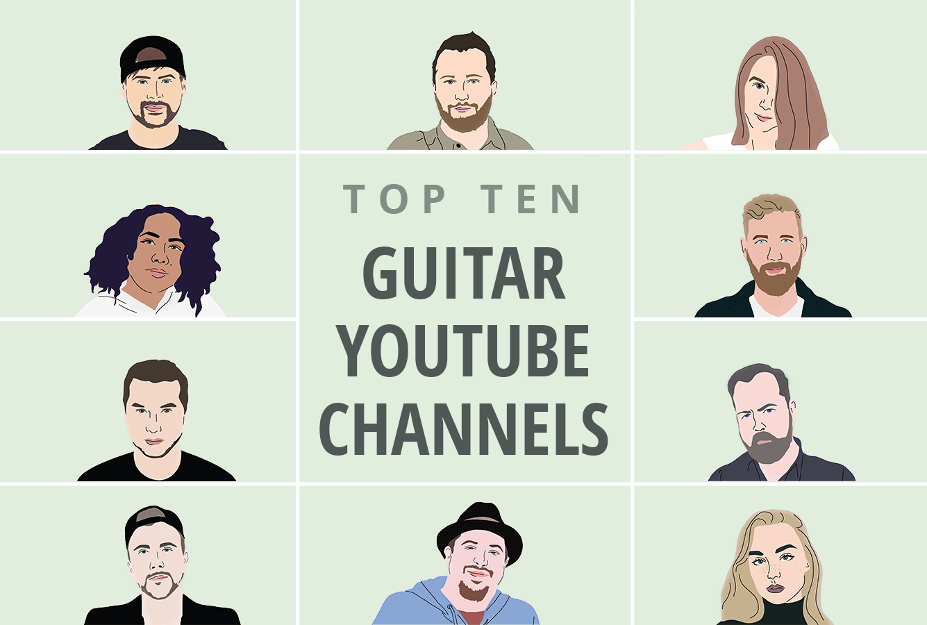 10 Guitar YouTube Channels to Watch