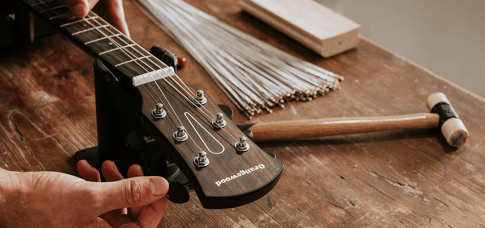 Orangewood Guitars Set Up in California