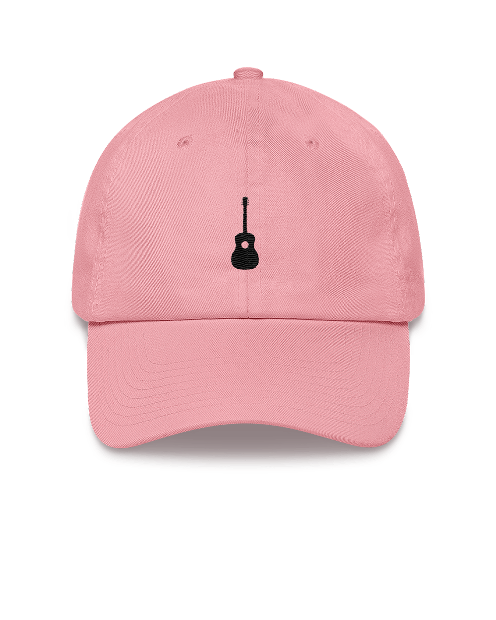 Guitar Dad Hat - Pink