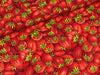 Baumwollstoff Farmer John`s Marketplace Strawberry rot-grün