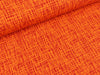 Baumwolljersey Vera Criss Cross orange-rot
