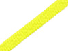 1m Flach- und Hoodiekordel Cord Me Check Point lime 20mm