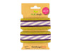 Stripe Me Glam Check Point Band viola-meringa-gold