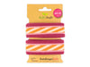 Stripe Me Icon Check Point Band ciclamino-rosa scuro-papaia-meringa