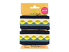 Stripe Me Icon Check Point Band blue navy-meringa-senf-giallino-garda