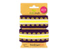 Stripe Me Icon Check Point Band viola-gold-meringa-giallino