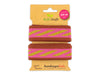 Stripe Me Icon Glam Check Point Band brucciato-ortensia-gold