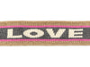 Stripe Me Icon Glow Band LOVE scoiatollo-gold-ortensia-carbon-meringa