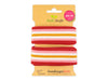 Stripe Me College Life Loves You Band flamme-rosa scuro-weiß-curry