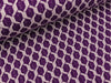 Hamburger Liebe 3D-Relief Jacquard Life Loves You Honeycomb viola-meringa