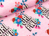 Hamburger Liebe Baumwollsweat Bloom Girl Power rose melange