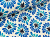 Hamburger Liebe Tencel Lyocell Jersey Bloom All Over meringa-bluette-blue navy