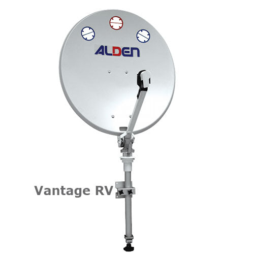 Trouble shooting the ALDEN CTVSAT Dish