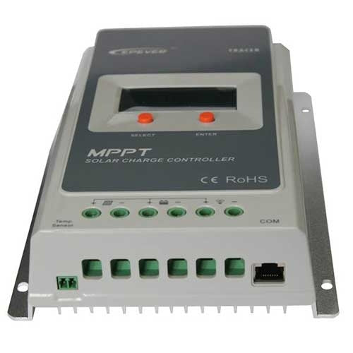 Tracer 40 Amp Solar Controller with Display