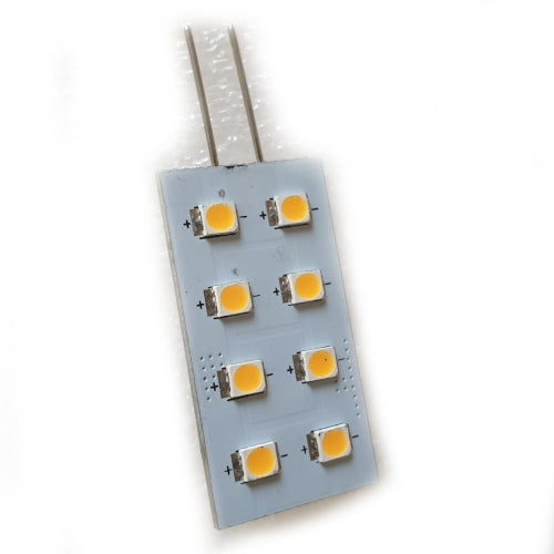 G4 LED Disc Warm White Rectangular