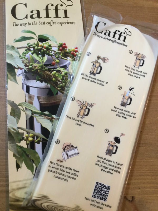 Caffi Compostable Coffee Filters