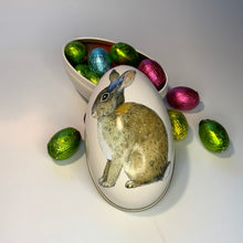 Load image into Gallery viewer, Tin Egg with mini chocolate eggs