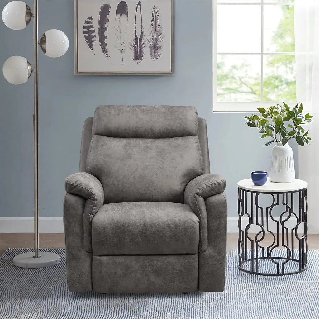 Ash - Power Recliner with USB Port