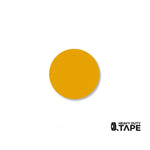 "1"" YELLOW Solid DOT - Pack of 200 - FloorTapeOutlet.com"