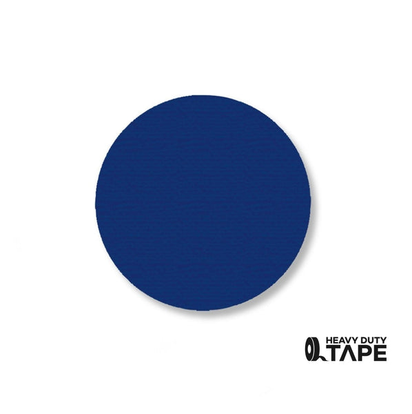 "2.7"" BLUE Solid DOT - Pack of 100 - FloorTapeOutlet.com"