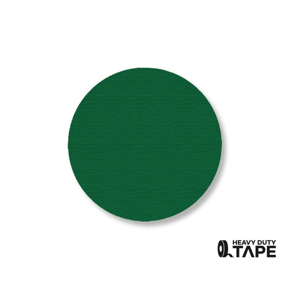 "2.7"" GREEN Solid DOT - Pack of 100 - FloorTapeOutlet.com"
