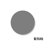 "2.7"" GRAY Solid DOT - Pack of 100 - FloorTapeOutlet.com"