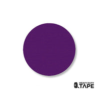 "2.7"" PURPLE Solid DOT - Pack of 100 - FloorTapeOutlet.com"