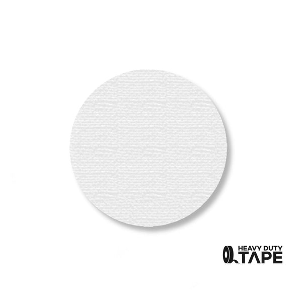 "2.7"" WHITE Solid DOT - Pack of 100 - FloorTapeOutlet.com"